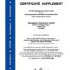 Certificate Supplement KBA Oberaigner Automotive
