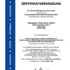 Zertifikatsergänzung KBA Oberaigner Automotive