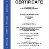 Certificate ISO 9001:2015 Oberaigner Powertrain
