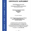 Certificate Supplement KBA Oberaigner Powertrain