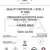 Quality Certificate PSA Group Oberaigner Automotive
